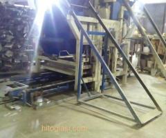 Prodajem masinu za proizvodnju vibropresovanih behaton ploca, ivicnjaka, kanalica - Slika 2