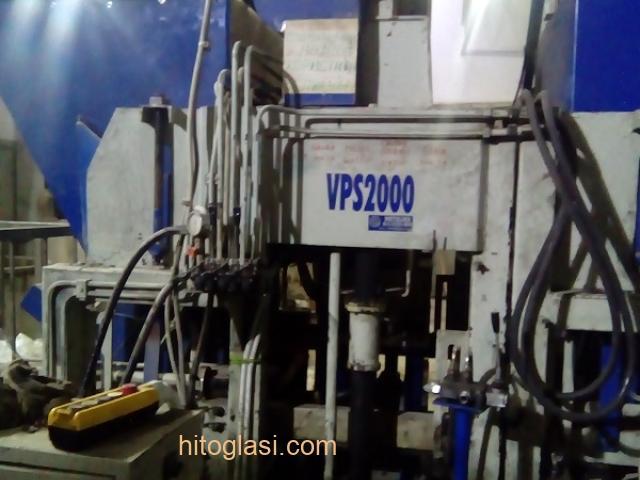 Prodajem masinu za proizvodnju vibropresovanih behaton ploca, ivicnjaka, kanalica - 3