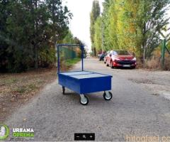 Kolica za prikupljanje tereta i transport buradi urbana oprema doo